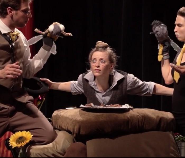 Trailer Videoproduktion  für das Kindertheaterstück Der kleine Maulwurf