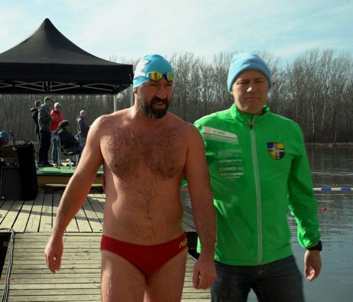 Standard Zeitung Videobeitrag Eisschwimmen in Altenwörth
