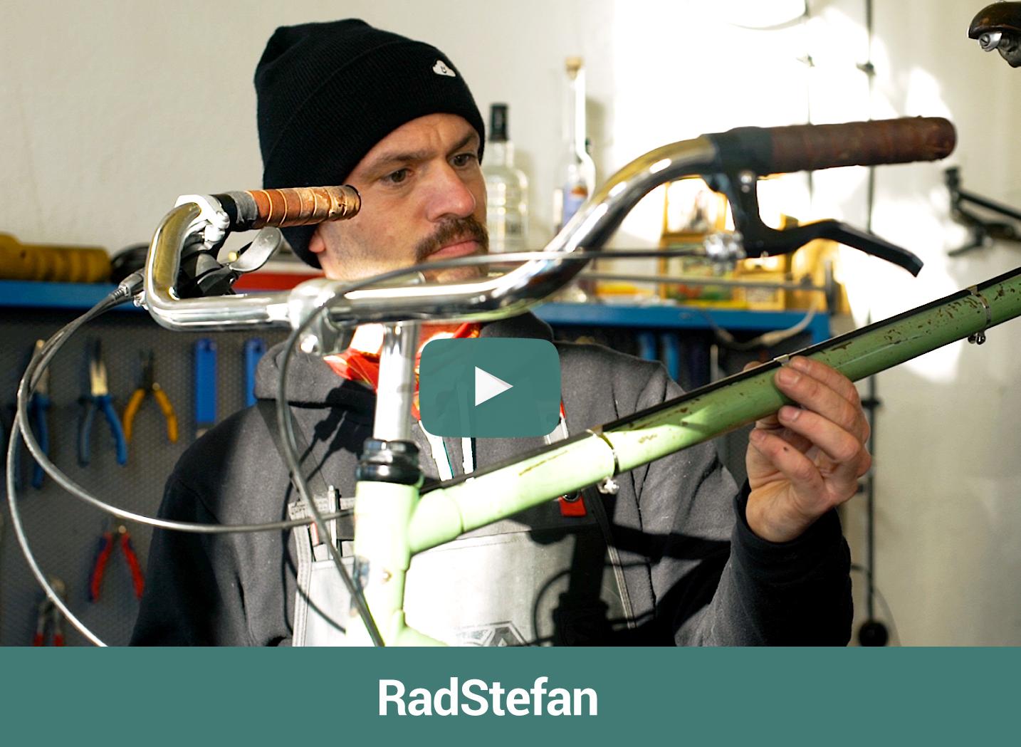Videoproduktion Web Werbeclip RadStefan
